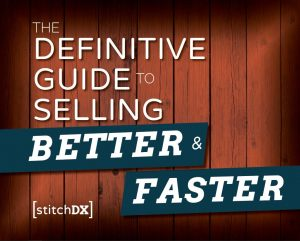 cover of the StitchDX ebook to selling faster and better through digital marketing